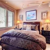 Apsen Townhomes Bedroom -Beaver Creek