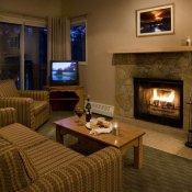 Banff Rocky Mt. Resort Living Room