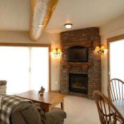 Black Bear Condos Living room