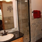 Blue Front Bathroom- Breckenridge