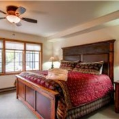 Borders Lodge Bedroom -Beaver Creek