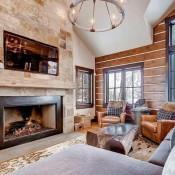 Buckhorn Townhomes Living Room -Beaver Creek