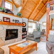 Cabin in the Pines Living Room Keystone