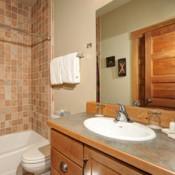 Cabin in the Pines Bathroom Keystone