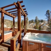 Cabin in the Pines Hot Tub Keystone