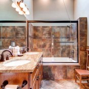 Chimney Bathroom - Breckenridge