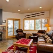 Courchevel living room Deer Valley