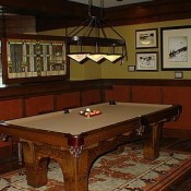 Arrowleaf pool table in some units