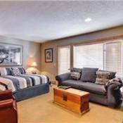 Der Stiermark Living Room in Studio - Breckenridge