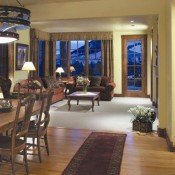 Grand View Lodge Living Room - Jackson Hole