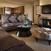 Hotel Madeline Hotel Madeline Condo Living Room-Telluride