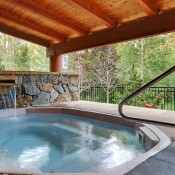Outdoor Hot Tub Area