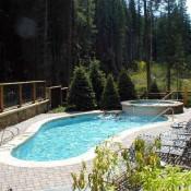 Lone Eagle Pool Keystone