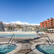 Main Street Station Pool and Hot Tub Area- Breckenridge