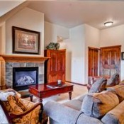 Main Street Station Living Room - Breckenridge
