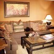 Mountaineer Townhomes Living Room- Breckenridge