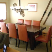 Mountaineer Townhomes Dining Room - Breckenridge