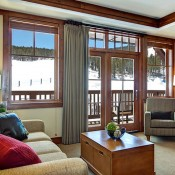 One Ski Hill Place Living Room - Breckenridge