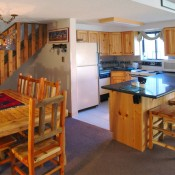 Dining and Kitchen with Loft