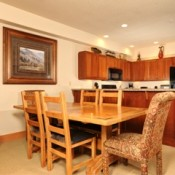 Red Hawk Townhomes Dining Room Keystone
