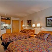 Red Mountain Lodge Bedroom (Hotel) - Breckenridge