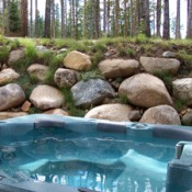 Saddlewood Hot Tub - Breckenridge