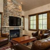 Silver Baron Lodge Living Room Deer Valley