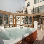 Slopeside Hot Tub Keystone