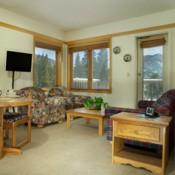 Slopeside Living Room Keystone
