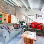 The Lift Living Room - Breckenridge