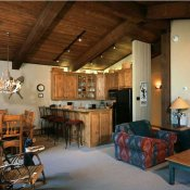 Top of the Village Living & Dinning Area - Snowmass