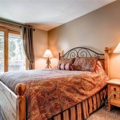 Trails End Bedroom - Breckenridge