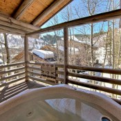 Trails End Hot Tub Deer Valley