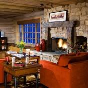 Trapper Cabin Living Room - Beaver Creek