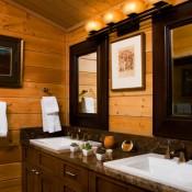 Trapper Cabin Bathroom - Beaver Creek
