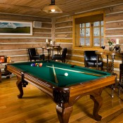 Trapper Cabin Pool Table - Beaver Creek