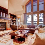 Villa Montane Living Room - Beaver Creek
