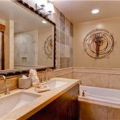 Water House Bathroom - Breckenridge