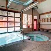 Winter Point Hot Tub and Pool Area - Breckenridge