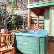 Woods Hot Tub - Breckenridge