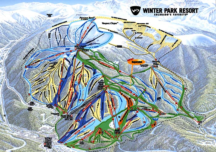 Winter Park Photos Winter Park Trail Map 122